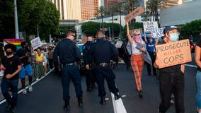 Police protests continue despite sharp rise of COVID-19 infections