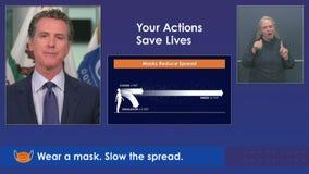 'Wear a mask, slow the spread' ahead of July 4: California PSA