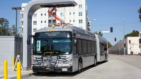 Metro deploys first zero-emission electric bus for G Line in San Fernando Valley