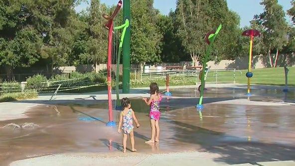 LA County splash pads reopen ahead of hot weekend