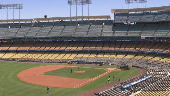 Dodgers begin summer camp workouts