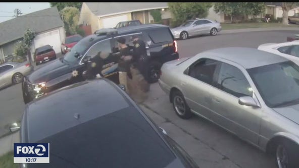 Police K9 bites man in handcuffs; Alameda Co. Sheriff says it was an 'accident'