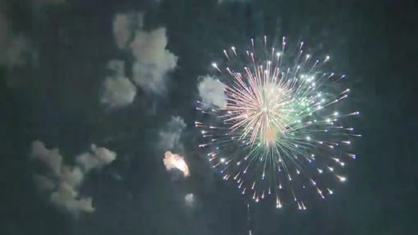 Mayor of Lancaster performs fireworks show in defiance of LA County officials
