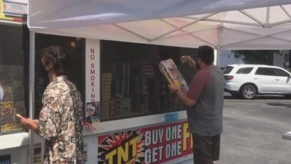 Firework sales skyrocket this year, officials offer safety tips for lighting