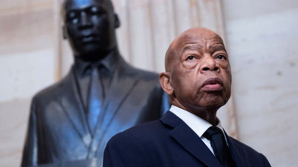 The late Rep. John Lewis honored at Georgia Capitol
