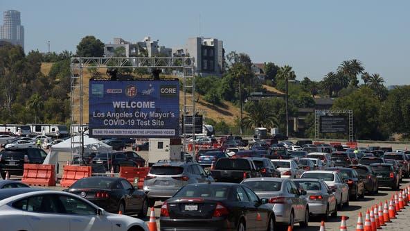 Los Angeles in 'dangerous phase' as virus cases surge