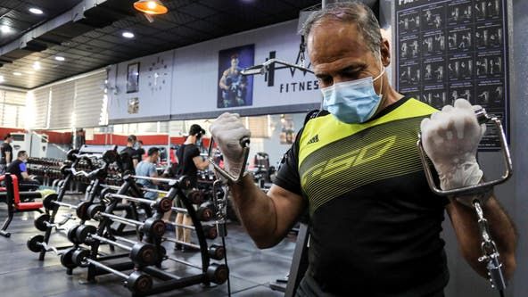 LA County gyms now require masks and gloves to be worn at all times — even while working out