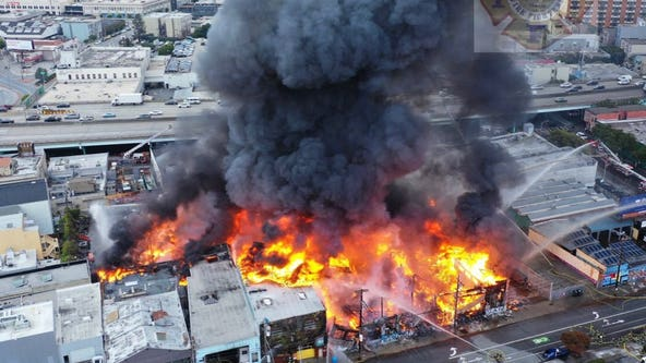 'The whole building is gone:' 75-year-old family business destroyed in 5-alarm San Francisco fire