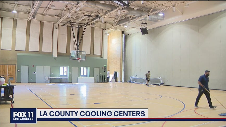 Cooling centers open in Los Angeles ahead of hot weekend forecast