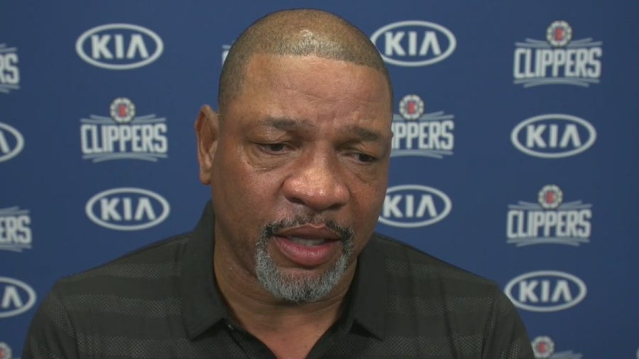 LA Clippers head coach Doc Rivers talks police reform