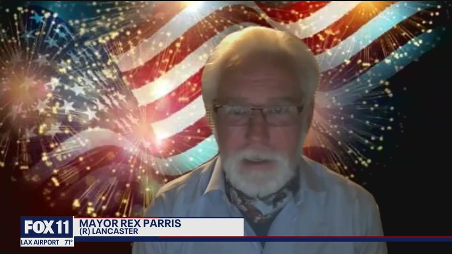 """""""If they arrest me, they arrest me"""" Lancaster mayor says firework show is still scheduled for July 4th"""