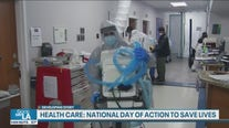 Nurses rally for better protection amid the coronavirus pandemic