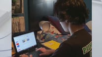 Local family struggles with distance learning