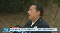 Authorities provide update on fatal shooting at Beverly Crest mansion party