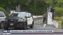 FBI agents raid Jake Paul's Calabasas home