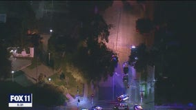 Pasadena police shoot man during traffic stop, uses pepper spray against crowd after incident