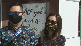 Honda Center reopens its doors for couples ready to get hitched