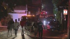 Police break up big house party in Studio City