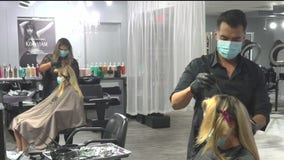 California hair salons, barbershops allowed to reopen indoors, but not in LA County