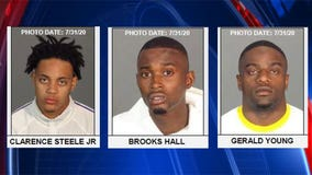 Suspects accused of stealing from more than 25 homes in 'hot prowl' burglaries across 3 counties