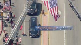 Body of US Marine returned home To Montebello
