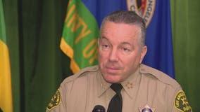 LA County Board of Supervisors to reconsider options to remove Sheriff Villanueva