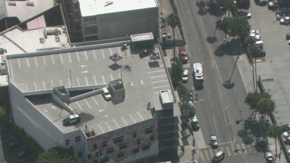 Suspect, officer shot on rooftop parking area in Culver City