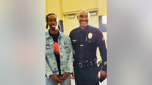 LAPD mentee from South LA now in college