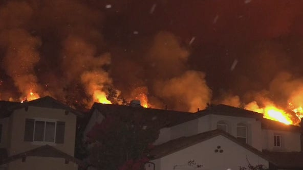 Mandatory evacuations lifted for Ranch 2 Fire burning near Azusa as blaze moves away from homes