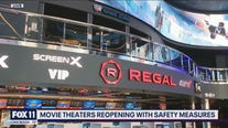 Movie theaters reopening with new COVID-19 safety measures