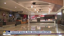 Nail salons, indoor malls can reopen at 25 percent capacity