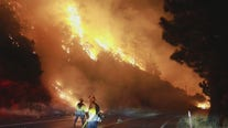 Firefighter dies while battling El Dorado Fire