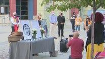 RBG vigil in San Pedro