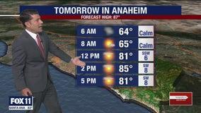 Weather Forecast for Wednesday, September 23