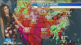 Weather Forecast for Thursday,September 24