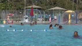 San Bernardino opens aquatic center in time for holiday heat wave