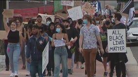 Protesters gather in San Clemente