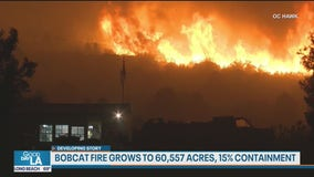 Bobcat Fire still threatening Mt. Wilson; continues to grow in size