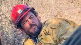 Procession from San Bernardino to Orange for firefighter killed battling El Dorado Fire