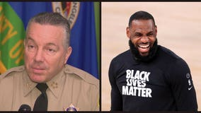 LA Sheriff Alex Villanueva challenges Lebron James to match reward money for gunman who ambushed two deputies