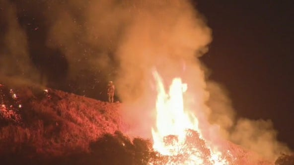 Martindale Fire 20% contained; Evacuations to remain in effect overnight