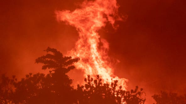 Fire weather threatens Southern California amid heat wave