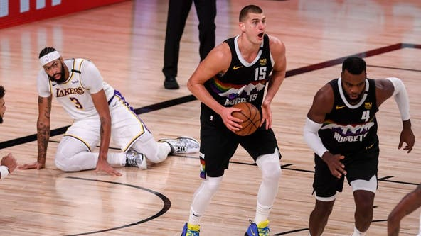 Nuggets hang on in Game 3 of Western Conference Finals, cut Lakers' lead to 2-1