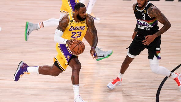 Another NBA Finals await LeBron James if Lakers can finish Nuggets