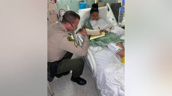 Trump calls California deputies injured in ambush shooting