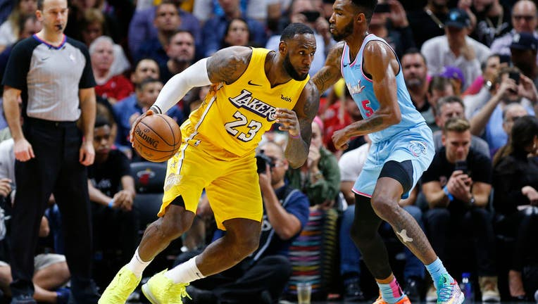 Lakers To Open Nba Finals Wednesday Against Miami Heat