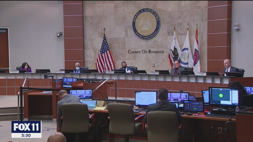 Riverside County bumped up to 'red' tier; County Supervisors opt to delay vote on separate reopening proposal