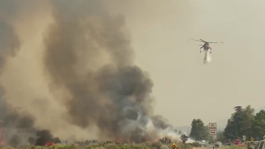 Firefighters continue to make progress on massive Bobcat Fire as containment reaches 50%