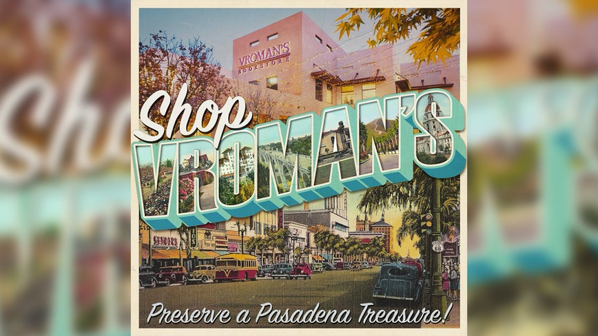 Vroman's Bookstore in Pasadena in danger of closing after 126 years