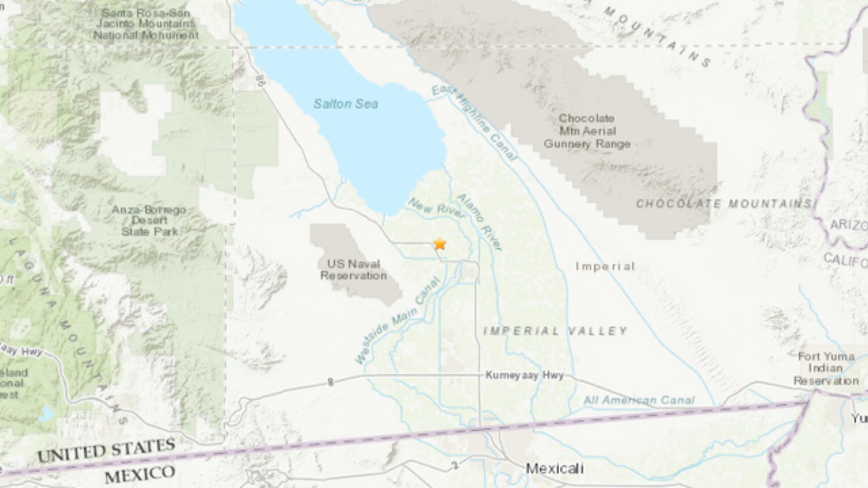 Swarm of earthquakes near Salton Sea sends light shaking into Riverside County